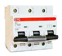 Модульный автоматический выключатель ВА4 3Р 63А D 10кА  тм СТС