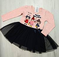 Детское платье для девочки размер 98,104,110,116,128 (на 3-8 лет) Турция