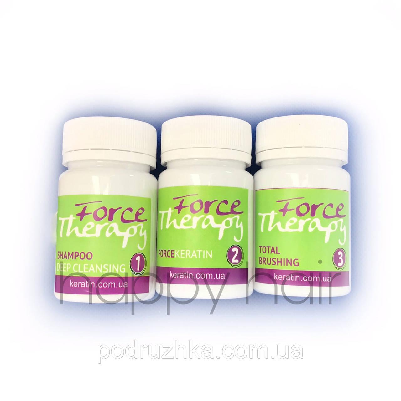 Набор для восстановления волос Floractive Force Therapy 50/15/50