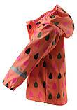 Демисезонная куртка-дождевик для девочки Reima Koski 521507.9-3221. Размеры 98 - 128., фото 2