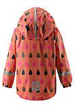 Демисезонная куртка-дождевик для девочки Reima Koski 521507.9-3221. Размеры 98 - 128., фото 3