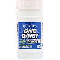 Витаминный комплекс для пожилых людей старше 50 лет, 21st Century, 100 таблеток
