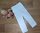 Нарядные белые стрейчевые вельветовые брюки скинни на девочку Carter's (США), фото 2