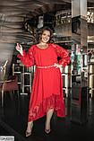 Стильное платье    (размеры 48-60) 0218-18, фото 2