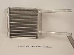 Радиатор печки Opel Astra F 1991-1998 (AC-) Плоские соты (Паянный)