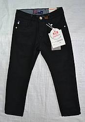 Детские джинсы теплые на флисе черные р. 122 см (Seagull, Венгрия)