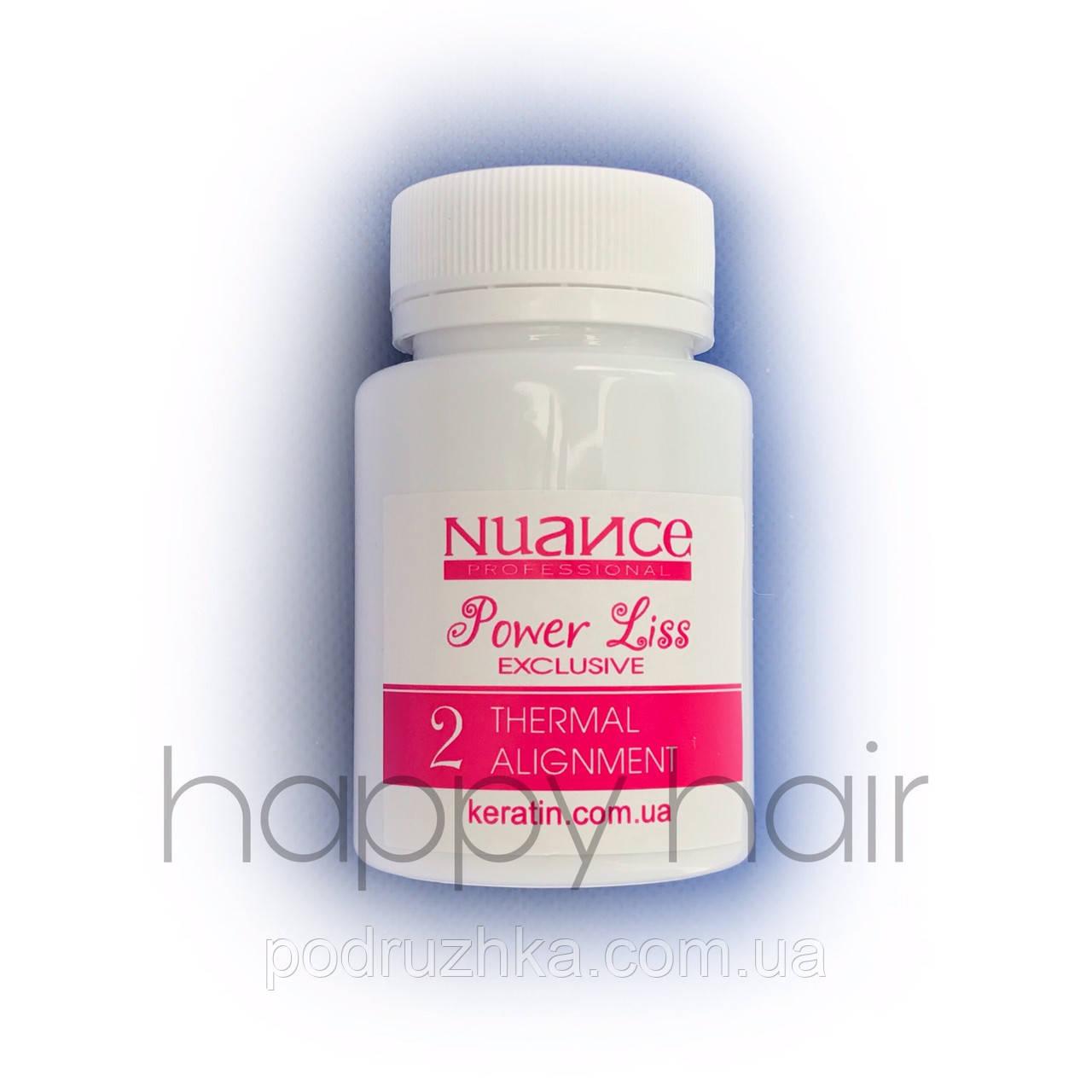 Nuance Power Liss Состав кератина для волос (шаг 2) 200 г