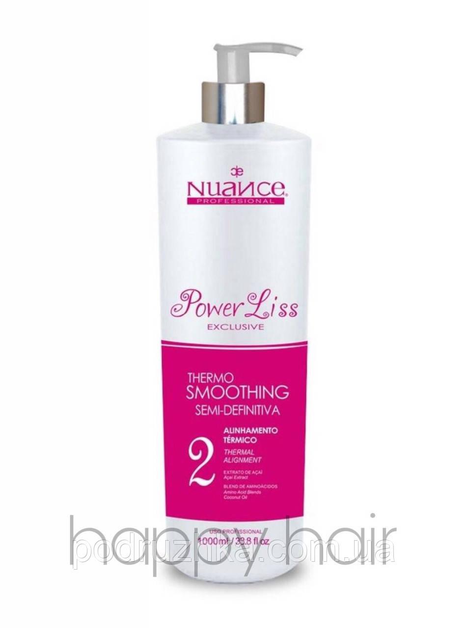Nuance Power Liss Состав кератина для волос (шаг 2) 1000 г