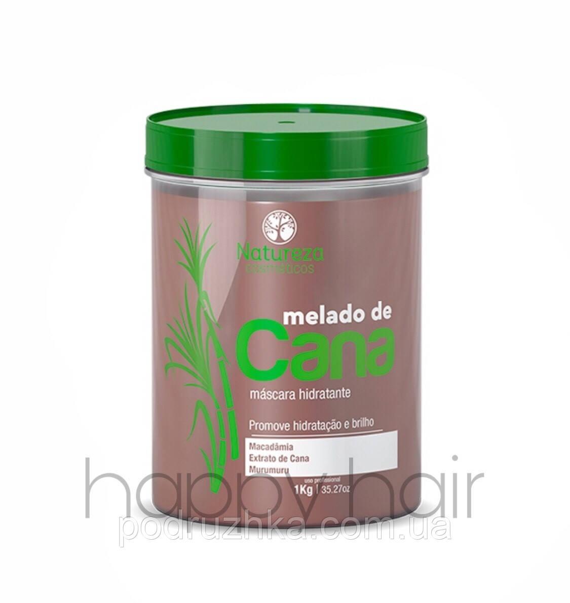 NATUREZA Melado de Cana Máscara Hidratante Ботокс-гиперувлажнение для волос 1000 г