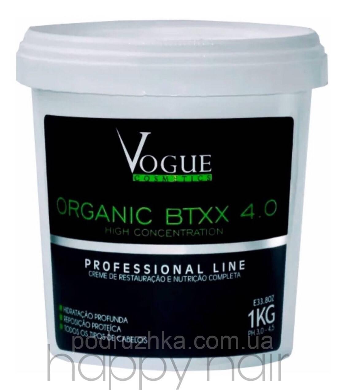 Vogue Cosmetics Botox Orgânico Btxx 4.0 Ботокс для волос 1000 мл
