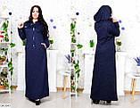 Стильное платье    (размеры 58-64) 0218-27, фото 2