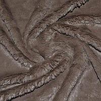 Хутро штучне кролик коричневе темне (21206.012)