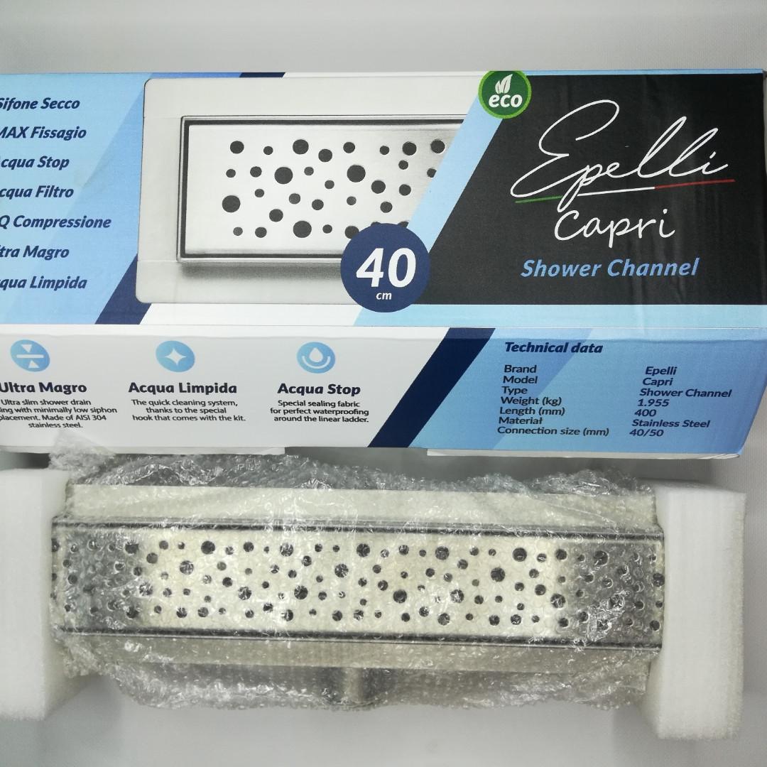 Трап душевой линейный Epelli Capri 40 см