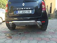 Dacia Duster 2008-2018 гг. Задняя дуга скоба AK007 (нерж.)