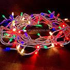 Гирлянда светодиодная на елку 100 LED 7 метров (мультиколор), фото 3