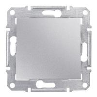 Выключатель 1- кл проходной Алюминий Sedna SDN0400160