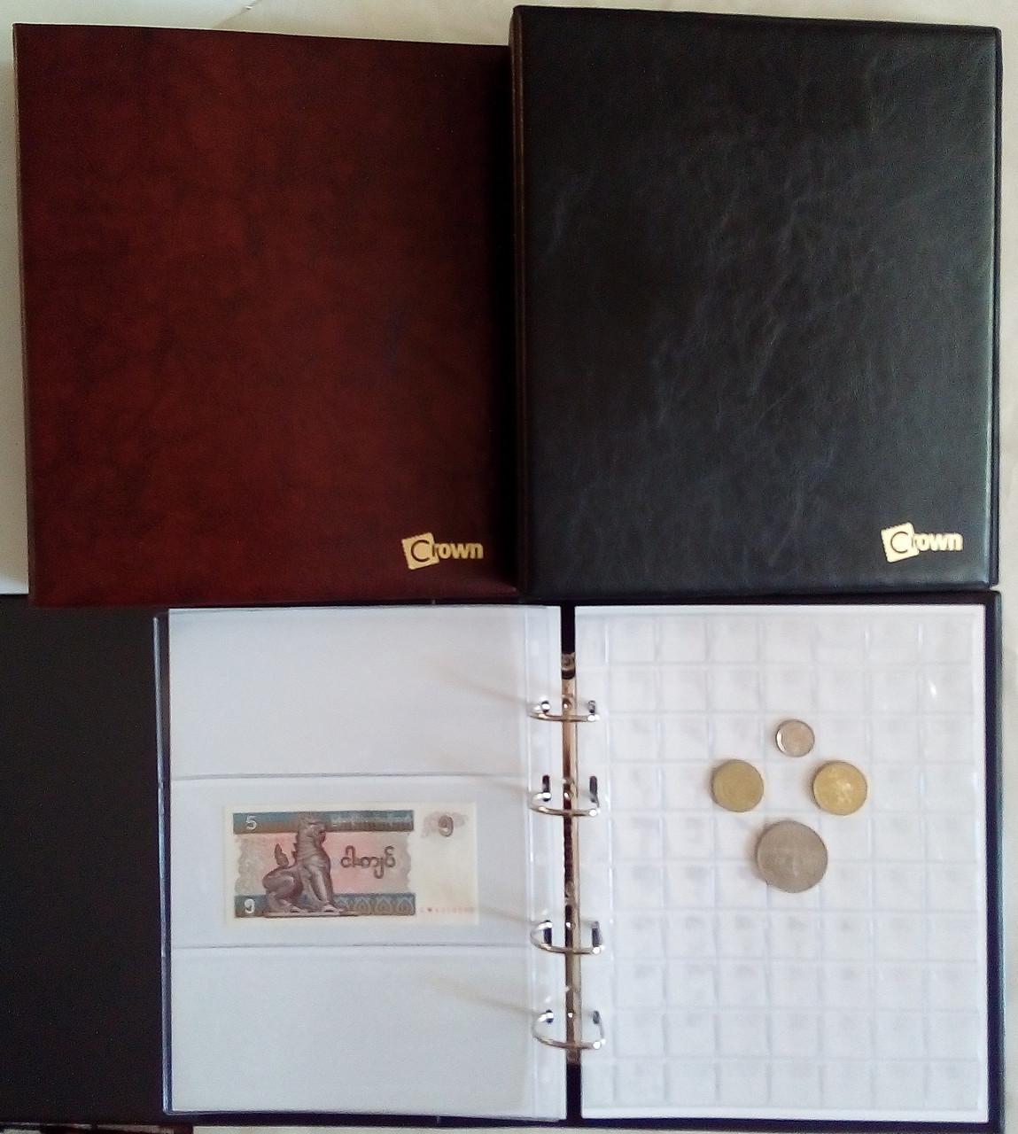Альбом для монет и банкнот Краун Престиж 531 ячейка