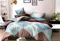 Двуспальный комплект постельного белья Сатин 175х215 см