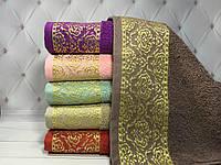 Набор хлопковых полотенец, 16 SWEET DREAMS 70х140 см. Турция
