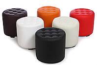 Небольшой пуфик-банкетка в прихожую MS-700  Оранжевый,пуфик,пуфики,пуф кожзам,пуф экокожа,банкетка,б, фото 8