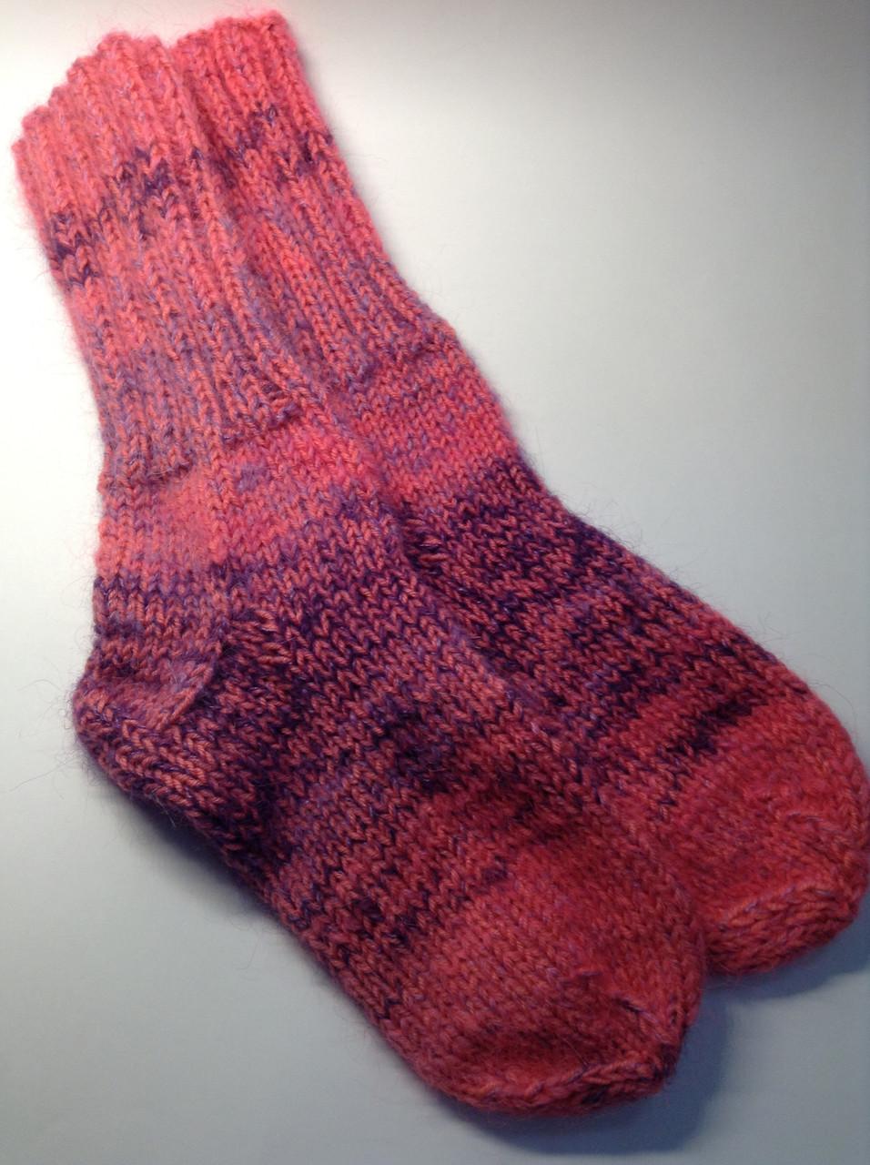 Носки вязаные (70% шерсть и мохер)