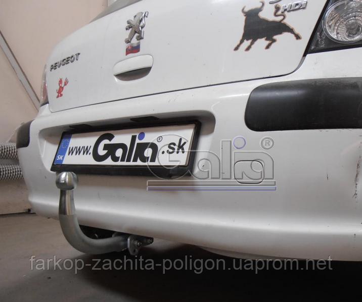 Фаркоп Peugeot 307 4dv с 2001-2007 г.