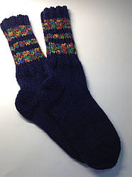 В'язані шкарпетки (80% вовна і мохер)