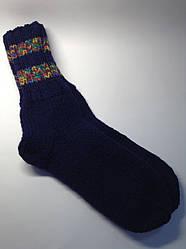В'язані шкарпетки чоловічі (80% вовна і мохер)