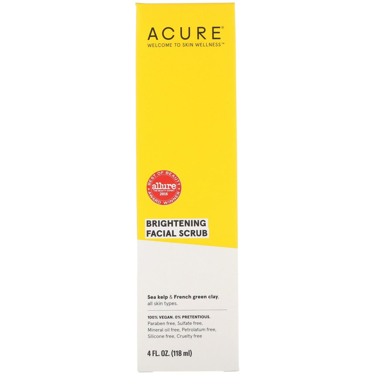 Скраб для лица, Acure Organics, 118 мл.