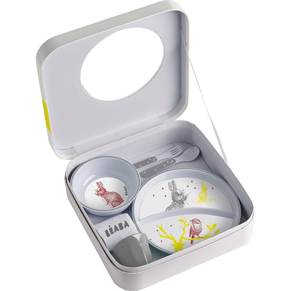 Подарочный набор посуды Beaba Bunny, арт. 913410