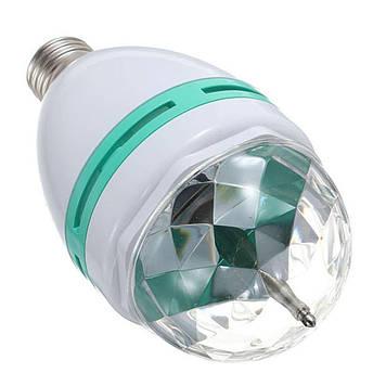 Светодиодная диско лампа с патроном Large Pаrty Light Lаmp вращающаяся