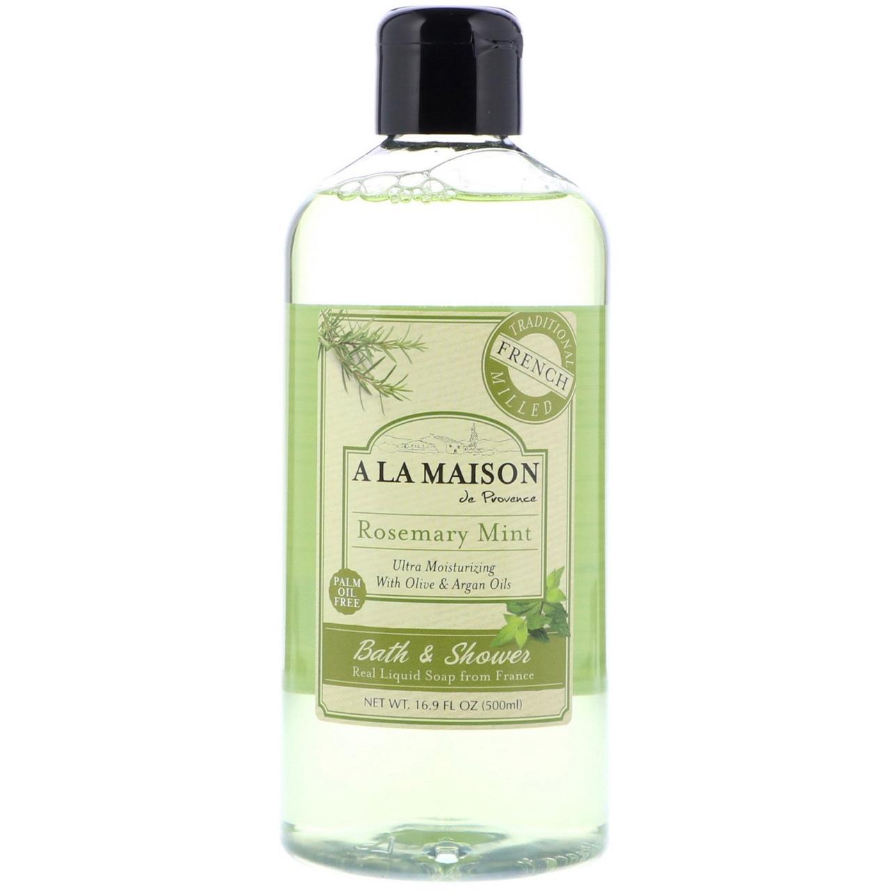 Жидкое мыло для душа, розмарин, A La Maison de Provence, 500 мл.