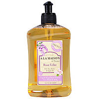 A La Maison de Provence, Мыло для рук и тела, розовая сирень, 16,9 жидк. унц. (500 мл)