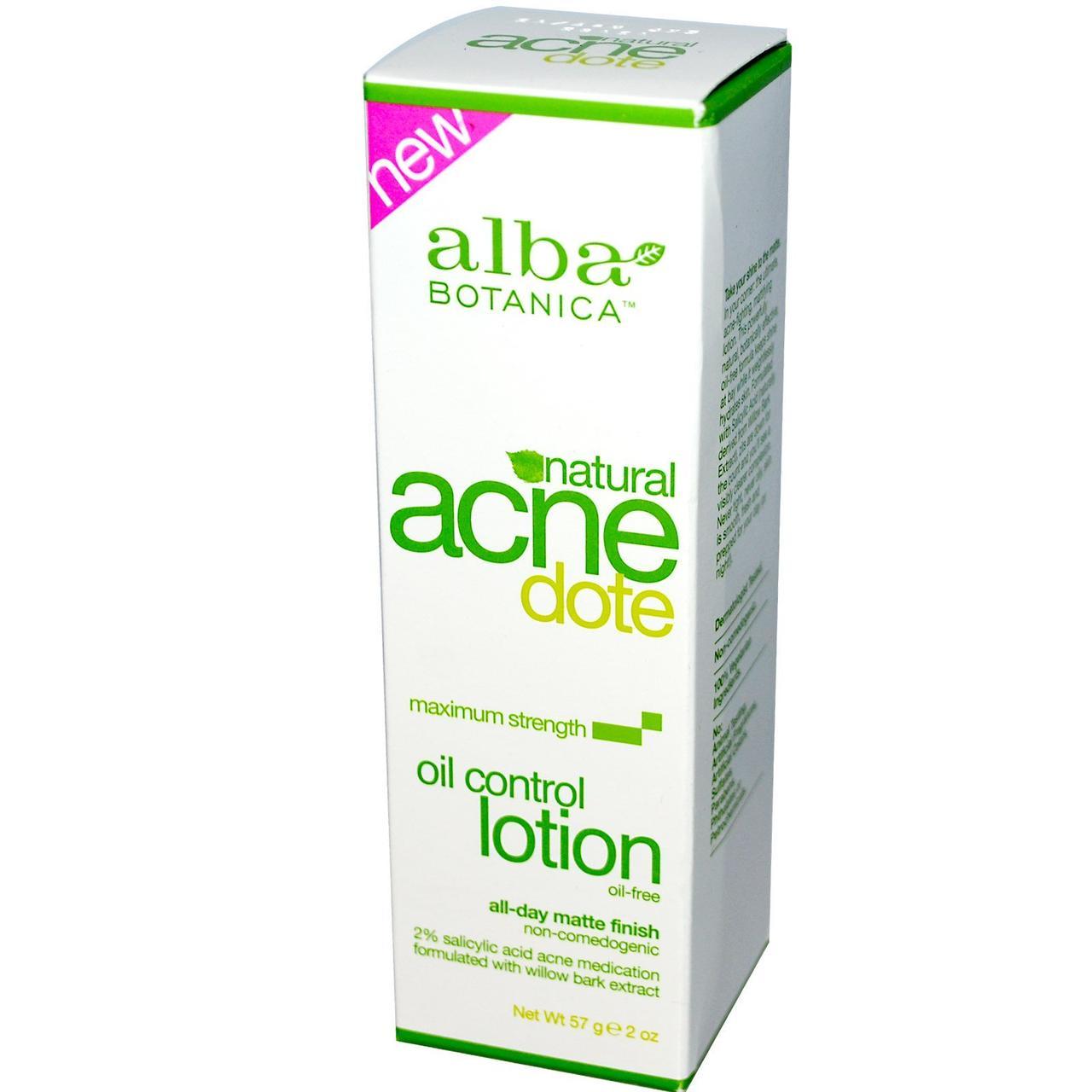 Лосьон, Control Lotion, Alba Botanica, 57 г