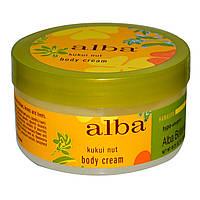 Крем  для тела (масло кукуи) Body Cream, Alba Botanica, 180 г.