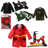 Игровой набор спасателя F012-S012-M012 костюм детский и аксессуары