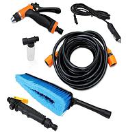 Портативная автомобильная мойка душ от прикуривателя High Pressure Portable Car Washer / автомойка /мойка авто