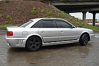 Дефлекторы окон (ветровики) AUDI 100 Sd (4A,C4) 1990-1994/Audi A6 Sd (4A,C4) 1990-1997 Cobra Tuning A10890