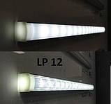 КОМПЛЕКТ!!! Профиль LED BIOM ЛП12 + рассеиватель матовый, (алюминий анодированный + поликарбонат)., фото 4