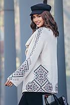 Женский вязаный жакет в этно-стиле с 44 по 54 размер, фото 2