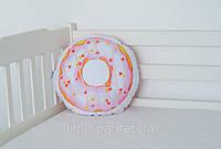 """Подушка хлопковая """"Пончик розовый"""", фото 1"""
