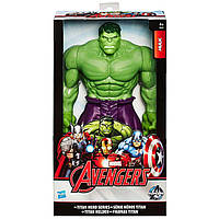Большая игрушка Халк 30 см, серии Титаны - Hulk, Titans, Hasbro - 138262