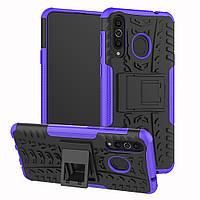 Чехол Armor Case для Huawei P30 Lite / Nova 4e Фиолетовый