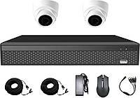 Комплект HD видеонаблюдения на 2 камеры CoVi Security AHD-2D KIT