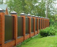 Паркани з профнастилу НЕДОРОГО. Хвіртки, орні і відкатні ворота, фундамент, фото 1