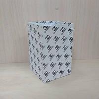 Коробка для цветов Квадрат 12,5*12,5*20см Шанель