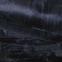 Хутро штучне середньоворсове чорне (мутон) ш.180 (21566.001)