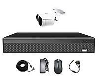 Комплект уличного видеонаблюдения в HD на 1 камеру AHD CoVi Security AHD-1W KIT