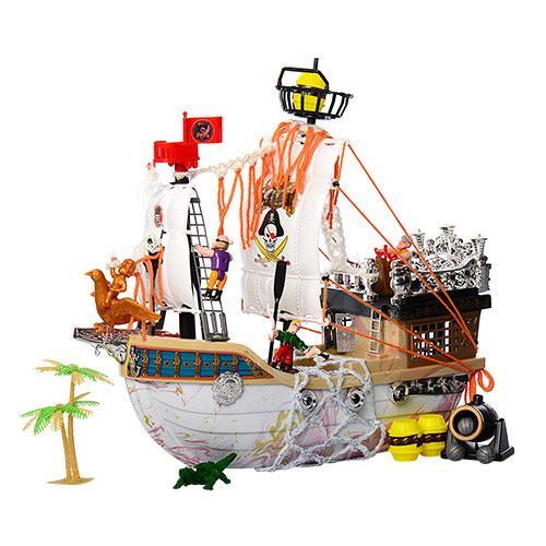 Игровой набор Корабль Пиратов 50838H фигурки и аксессуары игрушка для мальчиков