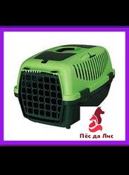 Переноска Trixie Capri 1 Transport Box XS зеленая для животных до 6кг